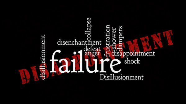 How to deal with failure in the life